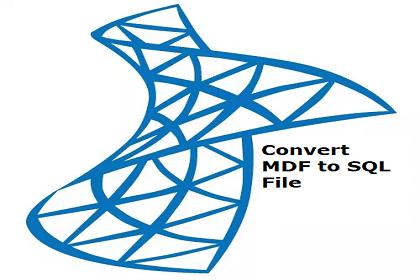 Как преобразовать MDF в файл SQL – с помощью прямого решения