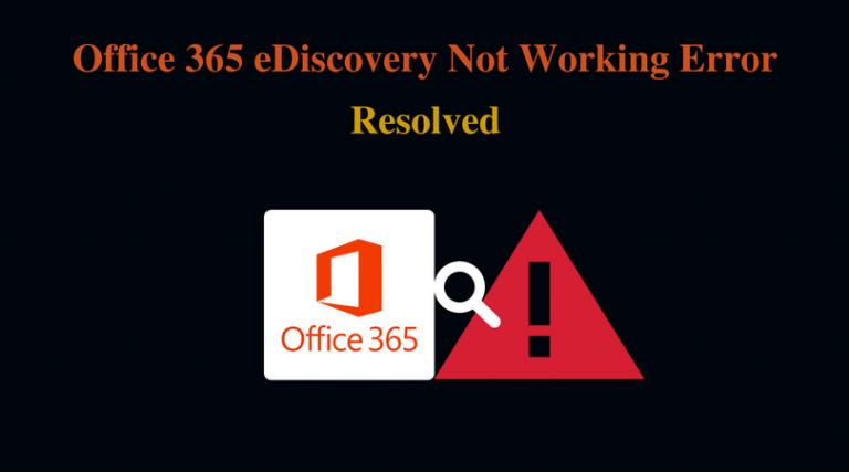 Поиск в Office 365 eDiscovery не работает во время экспорта – что дальше?