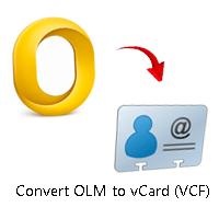 Как конвертировать файлы OLM в формат vCard (VCF) с помощью Best Converter Tool