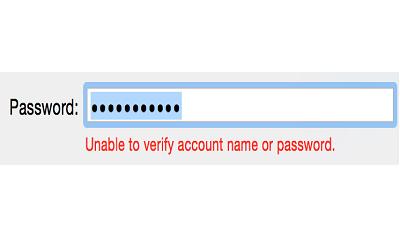 Apple Mail не может проверить имя учетной записи или пароль для Yahoo Mail