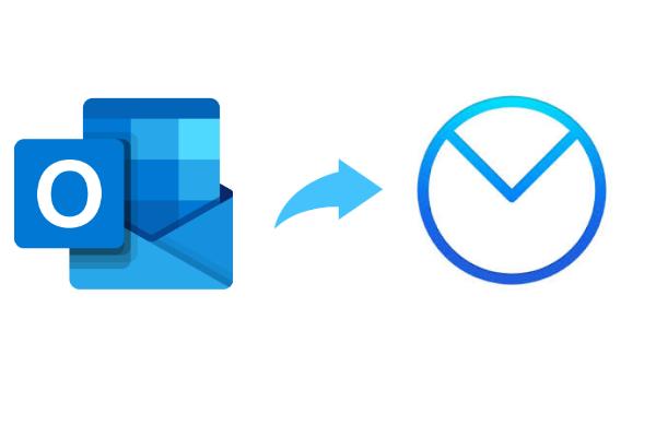 Импорт PST в AirMail Mac