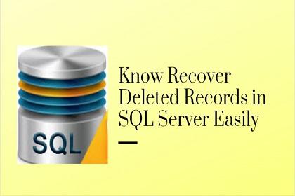 Легкое восстановление удаленных записей в SQL Server 2017/2016/2014/2012