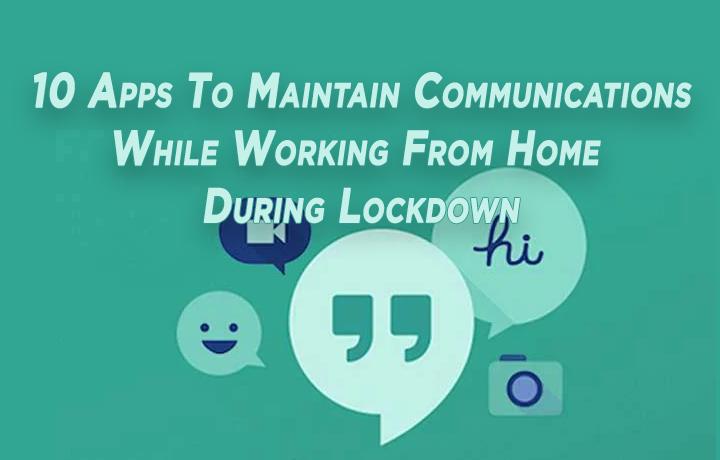 10 приложений для связи при работе из дома