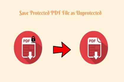 Как сохранить защищенный PDF-файл как незащищенный на Mac и Win