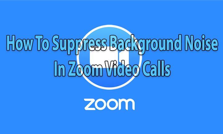 Как подавить фоновый шум при видеозвонках с увеличением