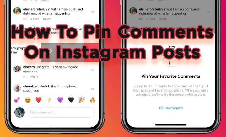 Как закрепить комментарии к сообщениям и обсуждениям в Instagram