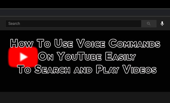 Как использовать голосовые команды на YouTube для поиска и воспроизведения видео