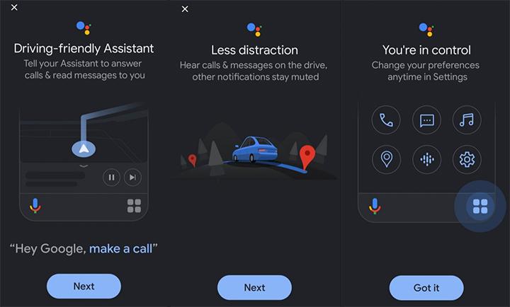 Как использовать режим вождения Google Assistant для приема / отклонения вызовов