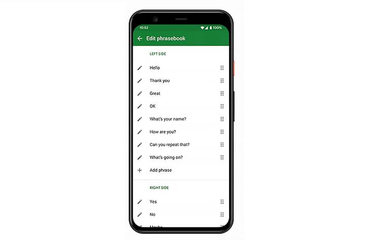 Как использовать функцию «Смотри, чтобы говорить» от Google