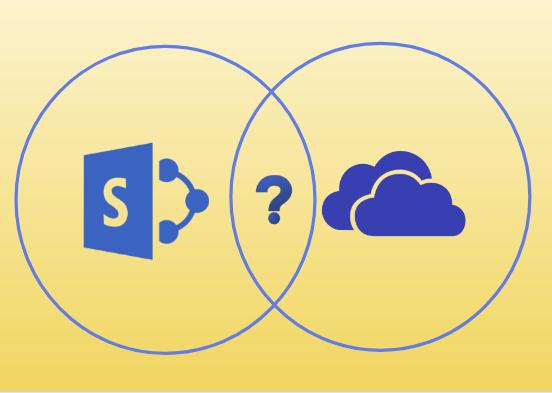 Разница между Sharepoint и OneDrive для бизнеса