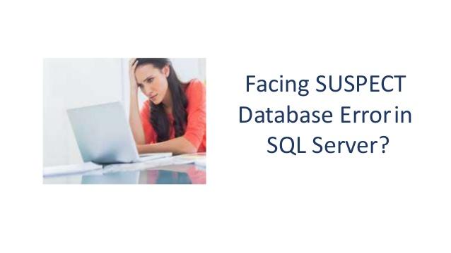 Как легко вывести базу данных из подозрительного режима в SQL Server