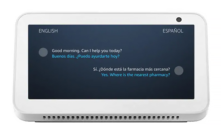 Как получать переводы в реальном времени на устройствах Amazon Echo