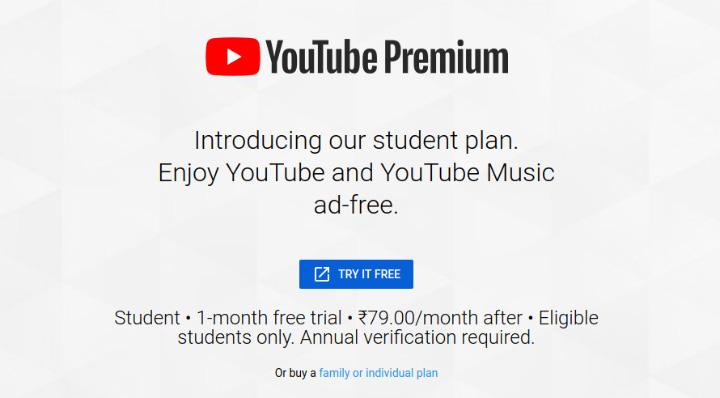 """Как получить """"Студенческий план"""" для YouTube Music Premium, YouTube Premium"""