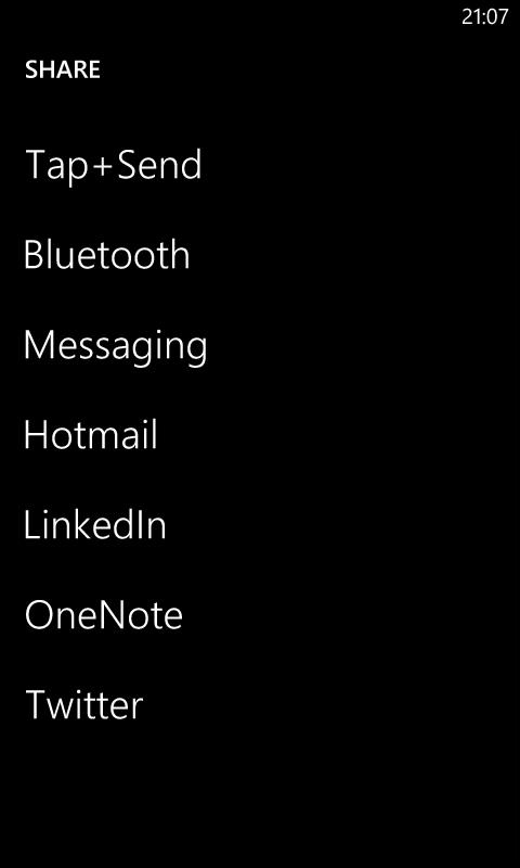Обмен файлами через Bluetooth на Windows Phone 8