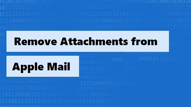 Удаление вложений из Apple Mail – объяснение с помощью ручных методов