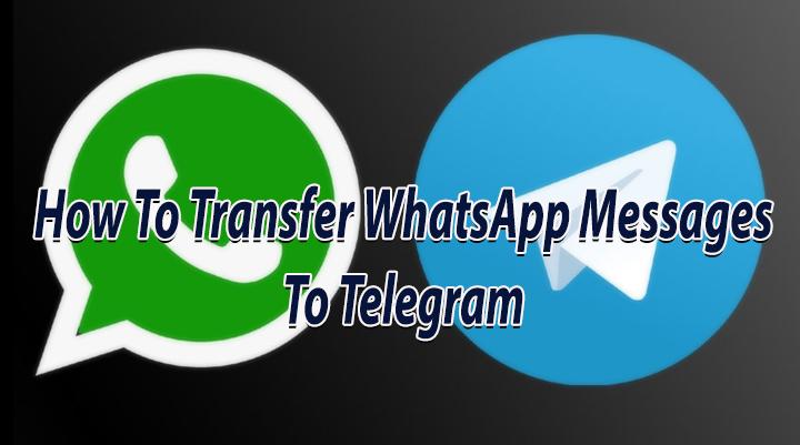 Как передавать сообщения WhatsApp в Telegram
