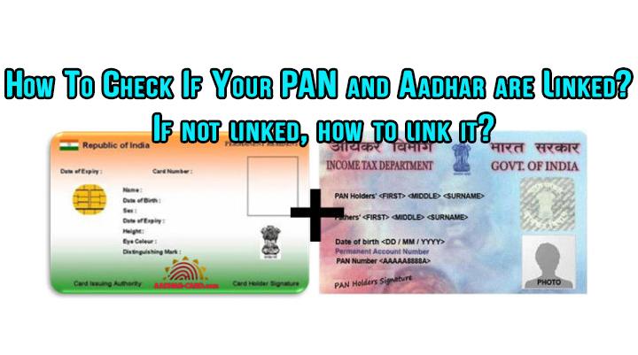 Как проверить, связаны ли ваш PAN и Aadhar?