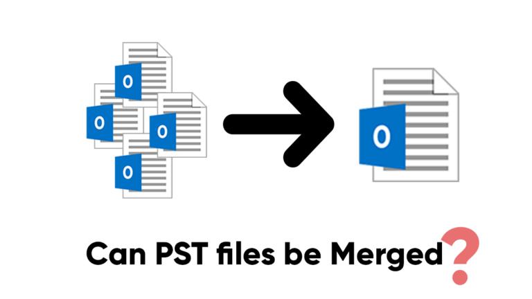 Можно ли объединить файлы PST