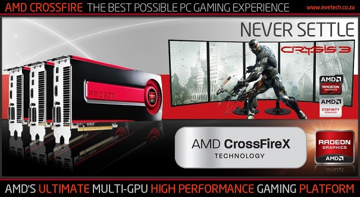 Исправлено: AMD Crossfire не работает в Windows 10.