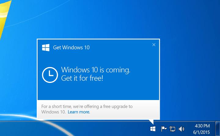 Как удалить Windows 10 Downloader из Windows 7 и 8.1