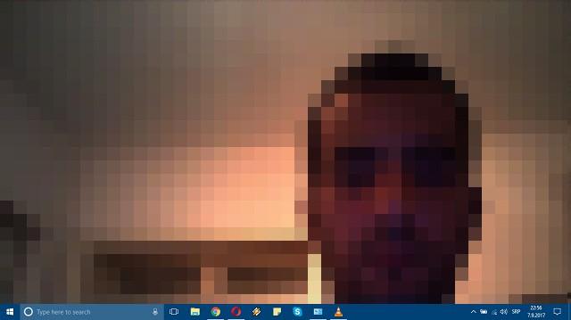 Как установить веб-камеру в качестве фона рабочего стола Windows