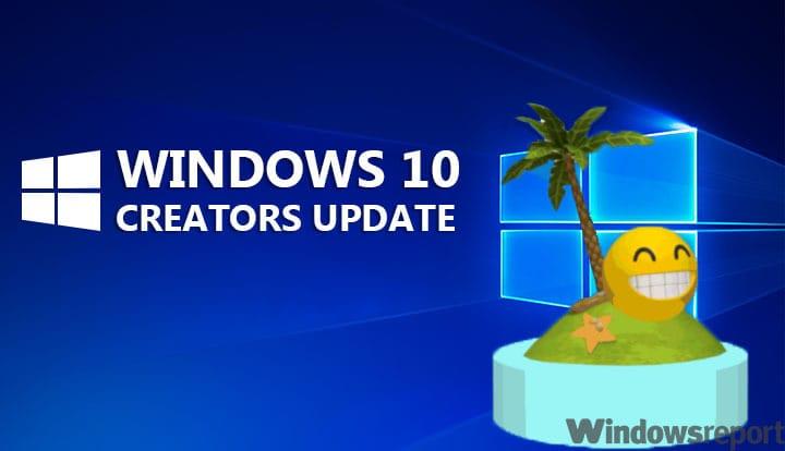 Ошибка «Что-то пошло не так» препятствует установке Creators Update.