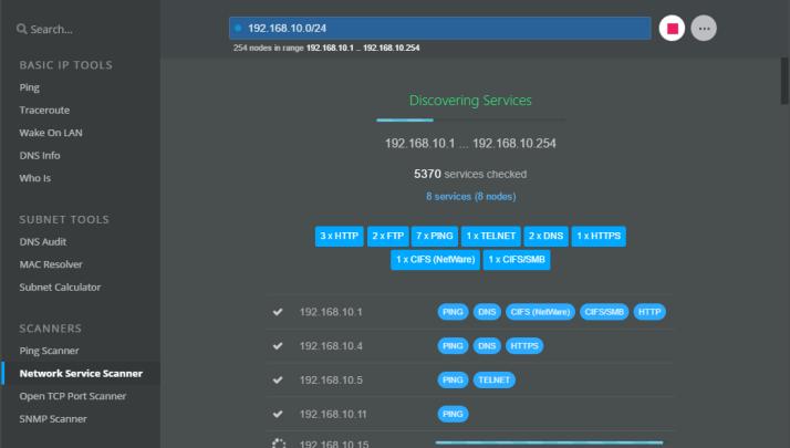 NetCrunch Tools для Windows помогает сетевым администраторам выполнять повседневные задачи.