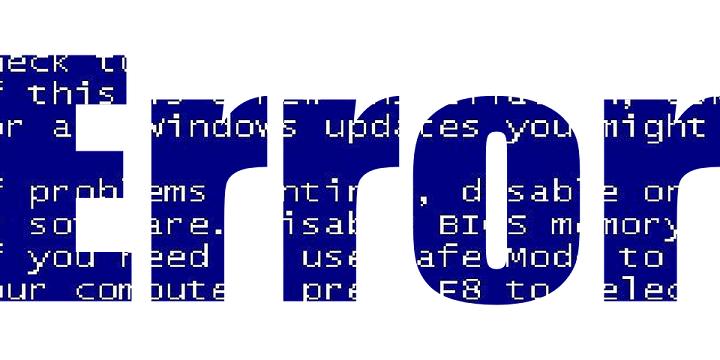 Исправлено: непредвиденная ошибка драйвера внешней базы данных Windows 10.