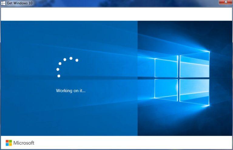 Исправить юбилейное обновление Windows 10, зависшее при перезагрузке
