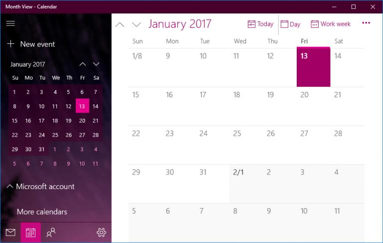"""Исправлено: приложение """"Календарь"""" в Windows 10 не работает."""