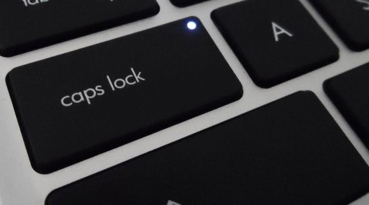 Полное исправление: индикатор Caps Lock не работает в Windows 10, 8.1, 7