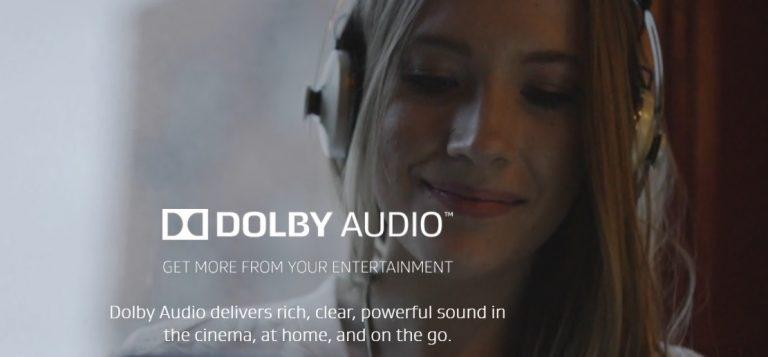 Загрузите последнюю версию Dolby для Windows 10, 8.1