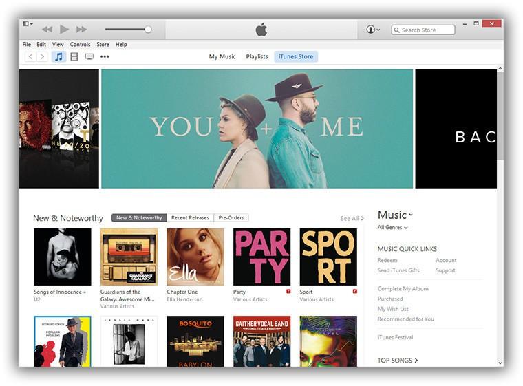 iTunes для Windows 10 обновлен с улучшениями в каталоге Apple Music
