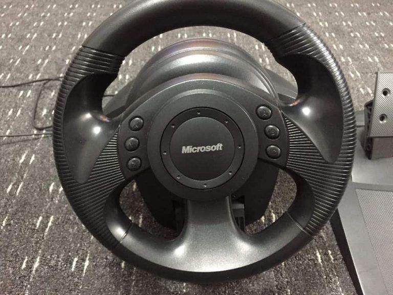 Как запустить Microsoft Precision Racing Wheel в Windows 10