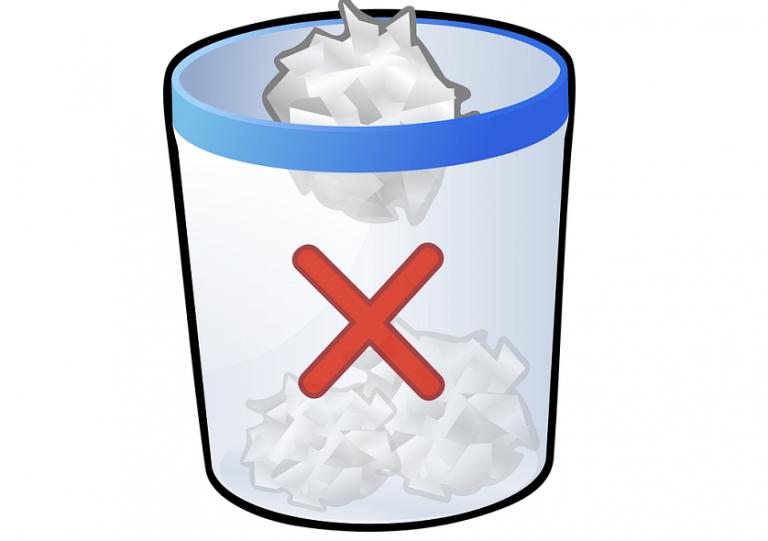 Исправлена проблема с поврежденной корзиной в Windows 10, 8, 8.1 за одну минуту.