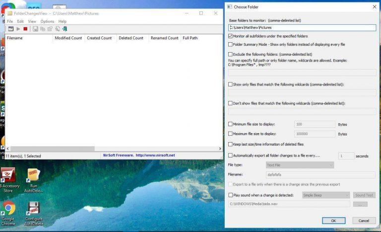 Как отслеживать изменения папок в Windows