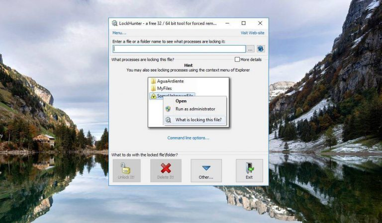 Как удалить заблокированные файлы в Windows