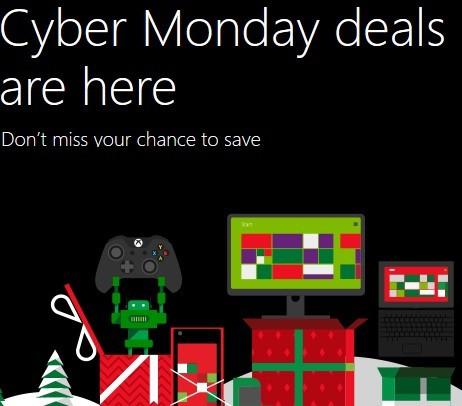 Предложения Microsoft Cyber Monday на 2013 год