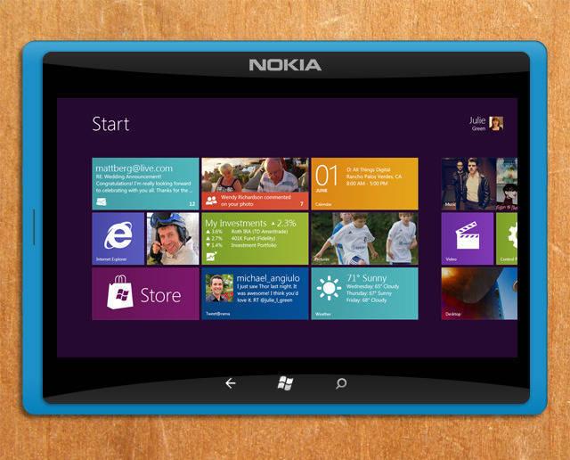 Nokia Windows 8, Windows 10 Tablet Входящие