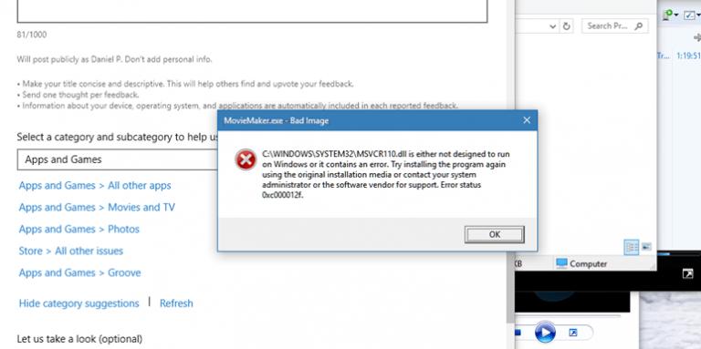 Ошибка «Приложение или игра не предназначены для работы в вашей операционной системе».[Fix]