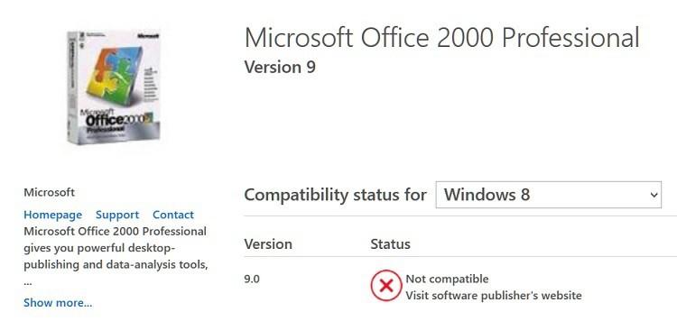 Запустить Office 2000, Office 2003 в Windows 8, 8.1, 10: Возможно?