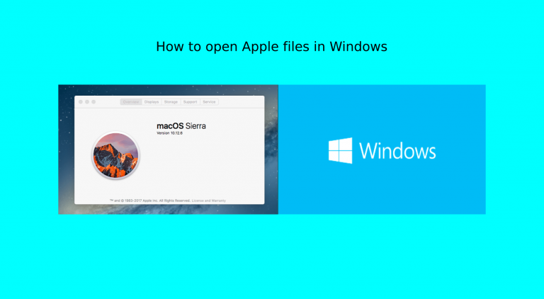 Как открыть файлы Apple на ПК с Windows