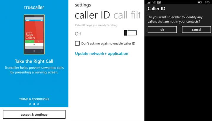 Truecaller для Windows Phone Update предлагает лучшее обнаружение спама и многое другое