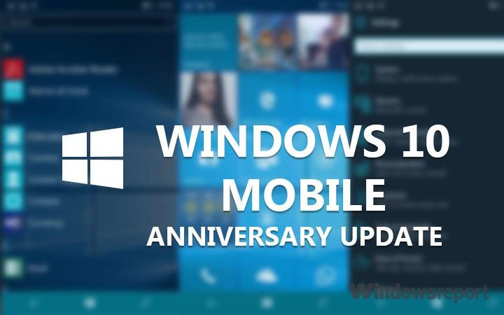 Исправлено: Lumia не загружает юбилейное обновление Windows 10 Mobile.
