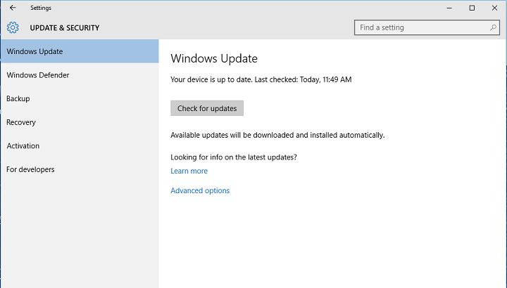 Настройки Центра обновления Windows в Windows 10: что вам нужно знать