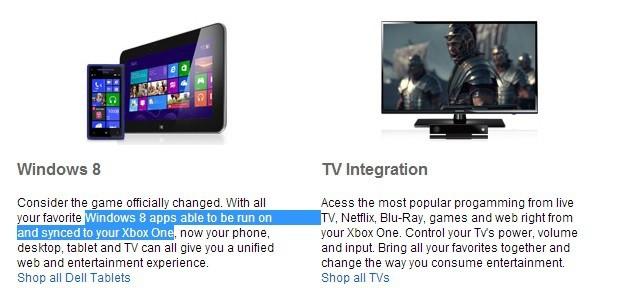 Утечка: приложения для Windows 8 будут запускаться и синхронизироваться на Xbox One