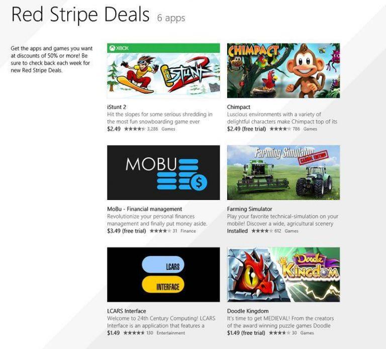 Скидки на приложения и игры для Windows 8 на этой неделе # 6