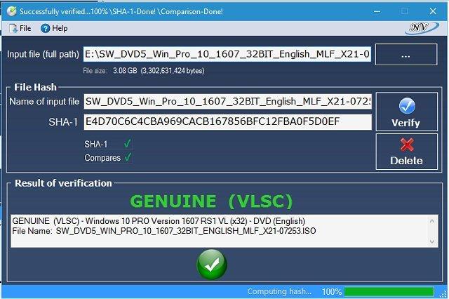 Законно проверяйте ISO-файлы Windows и Office с помощью этого инструмента