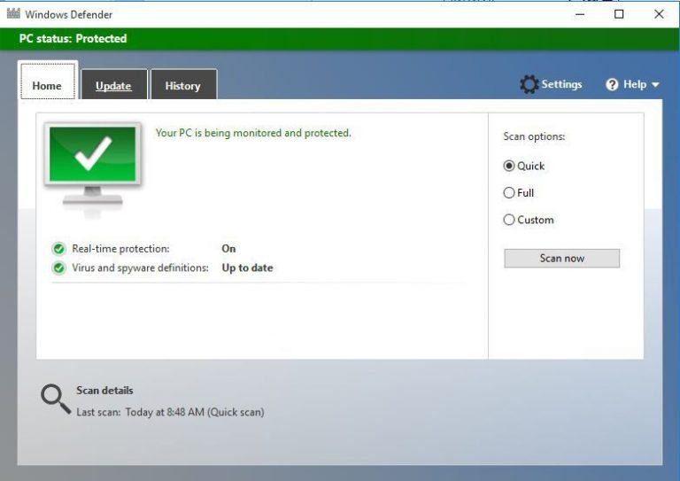 Как включить и настроить контролируемый доступ к папкам в Windows 10