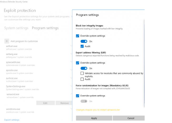 Как включить защиту от уязвимостей в Защитнике Windows
